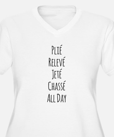 Ballet All Day Plus Size T-Shirt