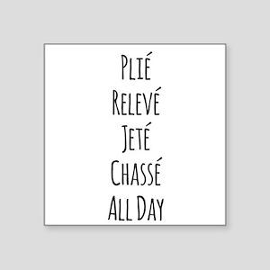 Ballet All Day Sticker