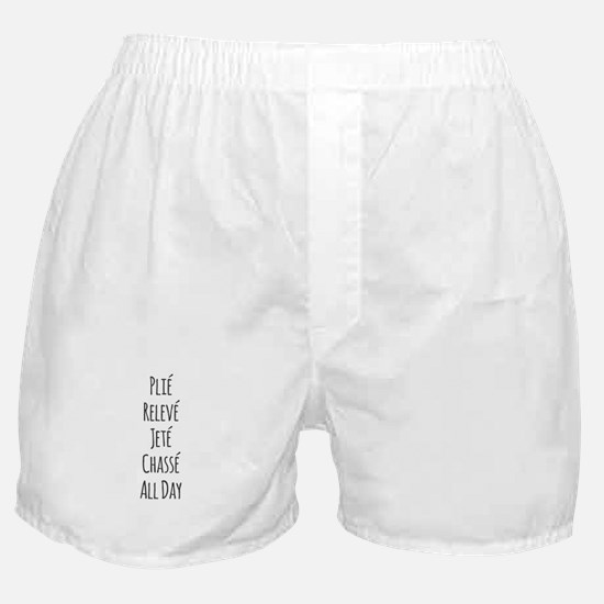 Ballet All Day Boxer Shorts