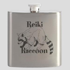 Reiki Nature Raccoon Flask