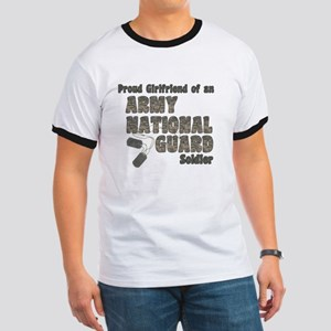National Guard Girlfriend (tags) T-Shirt
