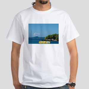 Roatan Honduras White T-Shirt