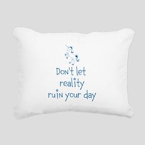 Reality Rush Rectangular Canvas Pillow
