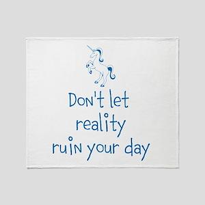 Reality Rush Throw Blanket