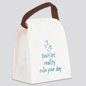 Reality Rush Canvas Lunch Bag