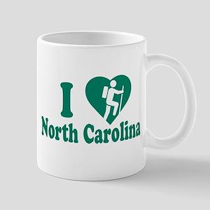 Love Hiking North Carolina Mug