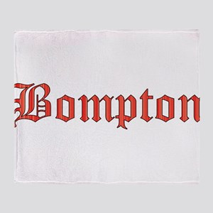 Bompton Throw Blanket