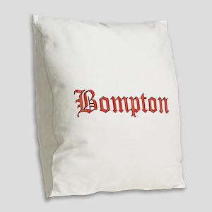 Bompton Burlap Throw Pillow