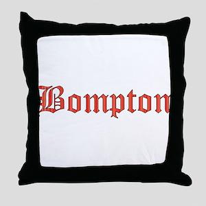 Bompton Throw Pillow