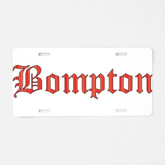 Bompton Aluminum License Plate