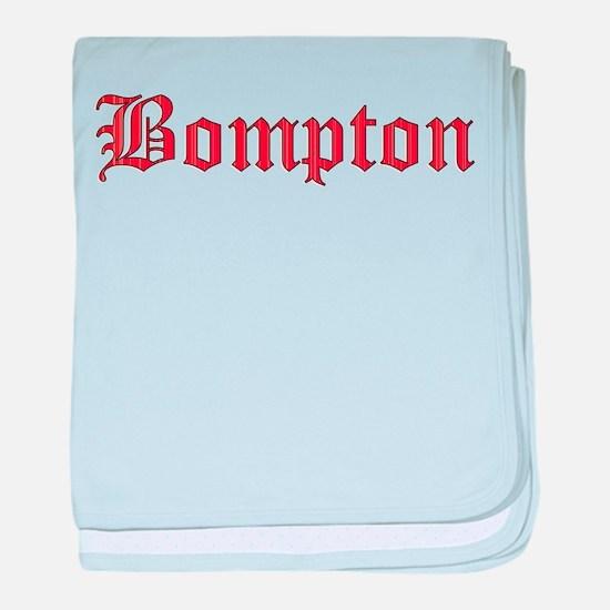 Bompton baby blanket