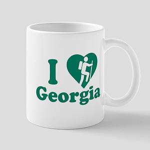 Love Hiking Georgia Mug