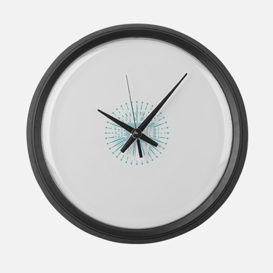 Queens Are Born In May Large Wall Clock