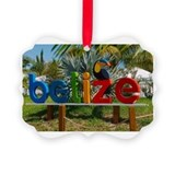 Belize Picture Frame Ornaments