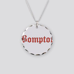 Bompton Necklace Circle Charm