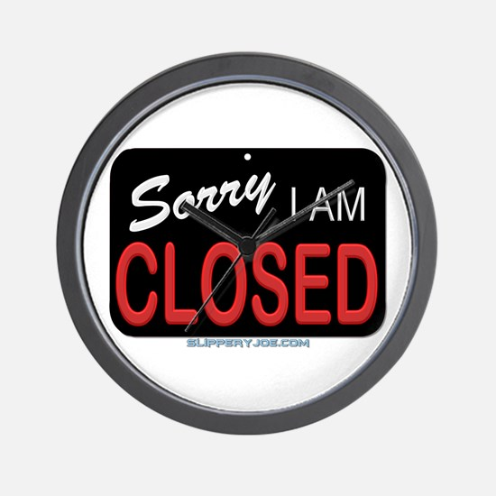 Sorry-1 Wall Clock