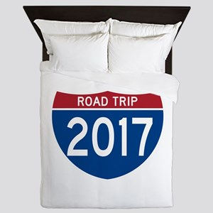 Road Trip 2017 Queen Duvet