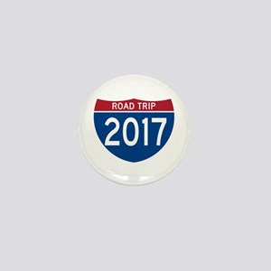Road Trip 2017 Mini Button