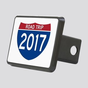 Road Trip 2017 Rectangular Hitch Cover