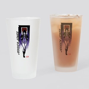 Jessica Jones Walking Drinking Glass