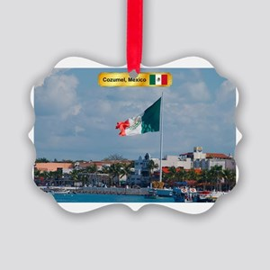 Cozumel Picture Ornament