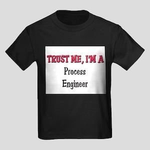 Trust Me I'm a Process Engineer Kids Dark T-Shirt