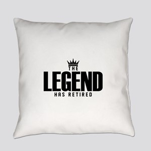 The Legend Has Retired Everyday Pillow