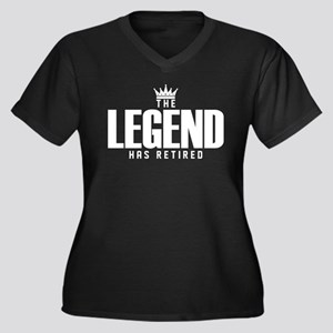 The Legend Has Retired Plus Size T-Shirt