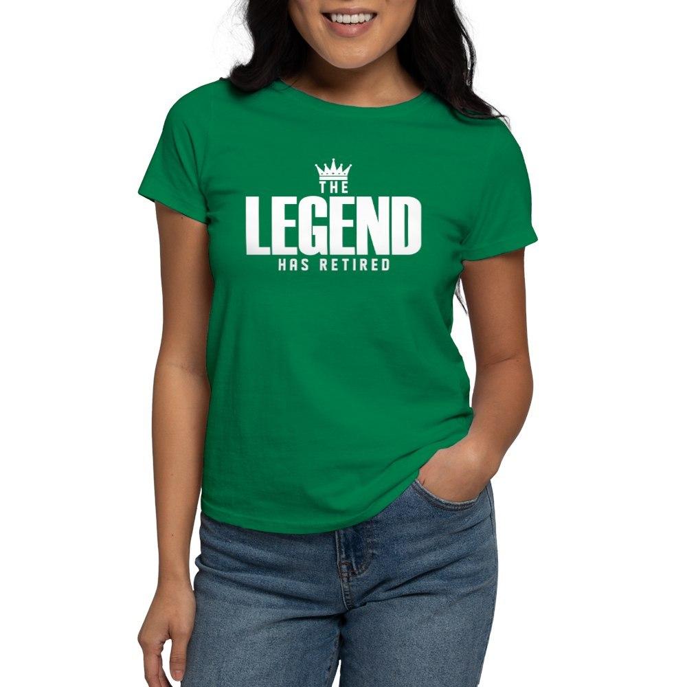 CafePress-The-Legend-Has-Retired-T-Shirt-Women-039-s-Cotton-T-Shirt-2038190499 thumbnail 63