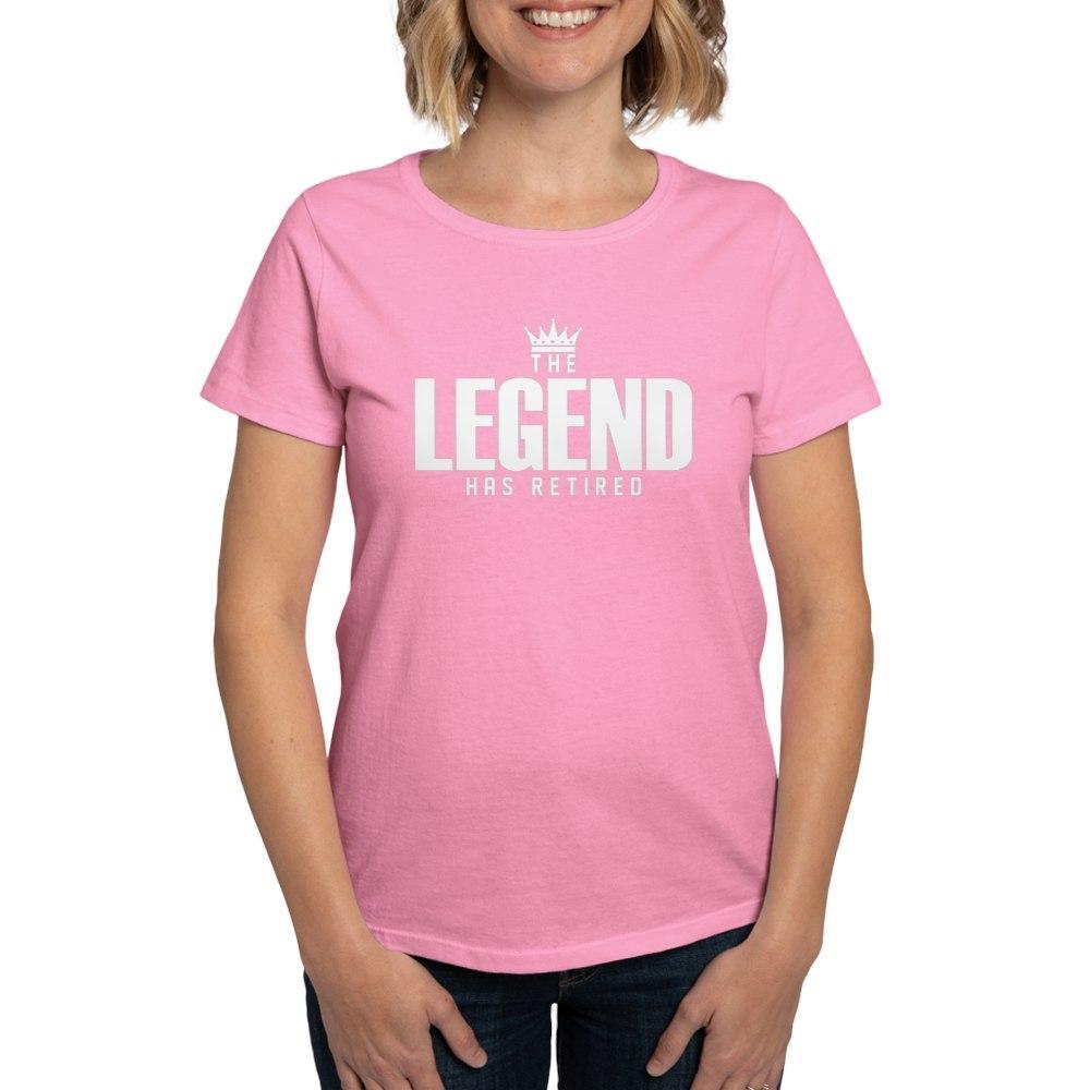 CafePress-The-Legend-Has-Retired-T-Shirt-Women-039-s-Cotton-T-Shirt-2038190499 thumbnail 25