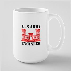 Army Engineer Castle Mugs