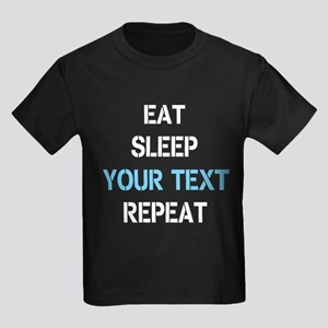 EAT SLEEP REPEAT PERSONALIZED T-Shirt