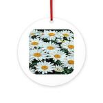 Shasta Daisies Ornament (Round)