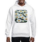 Shasta Daisies Hooded Sweatshirt