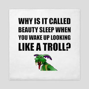 Beauty Sleep Troll Queen Duvet