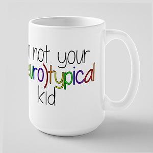 Not Neurotypical Kid Large Mug