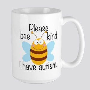 Autism Bee Large Mug