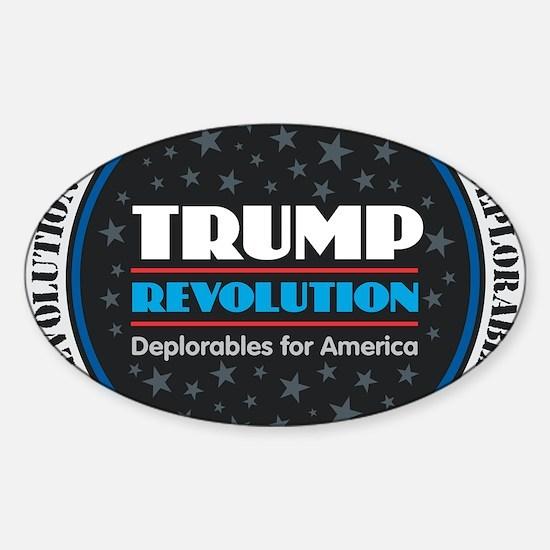 Trump Revolution DeplorablesTrump Revoluti Decal