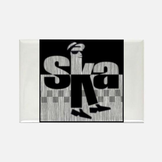 SKA Dancing 1 Rectangle Magnet
