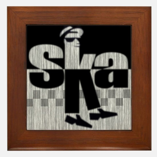 SKA Dancing 1 Framed Tile