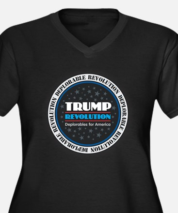Trump Revolution Deplorables Plus Size T-Shirt