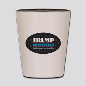 Trump Revolution Deplorables Shot Glass