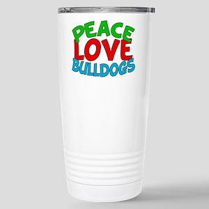Bull Dogs Stainless Steel Travel Mug