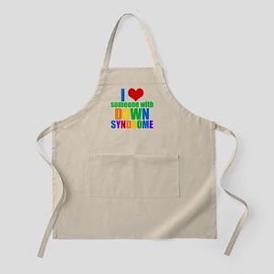 Down Syndrome Love Apron