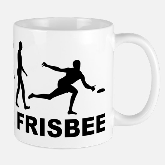 Evolution Ultimate Frisbee Mugs