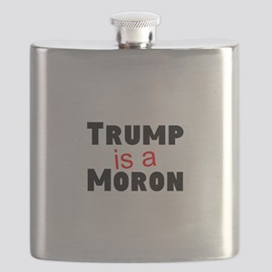 Trump is a moron Flask
