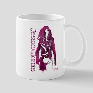 Jessica Jones Silhouette Mug