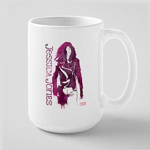 Jessica Jones Silhouette Large Mug
