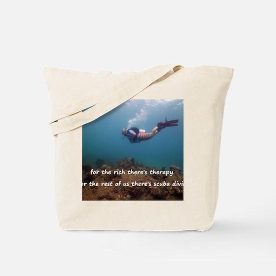 Unique Scuba Tote Bag