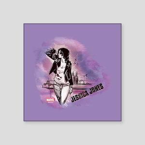 """Jessica Jones Purple Sky Square Sticker 3"""" x 3"""""""